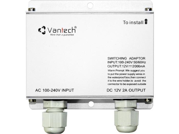 POWER SWITCHING ADAPTER 12V-2A VANTECH PSA-01H