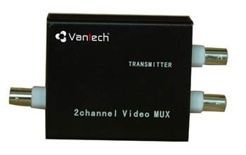 Bộ ghép tín hiệu 2 kênh video VANTECH VTM-02