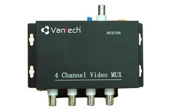 Bộ ghép tín hiệu 4 kênh video VANTECH VTM-04