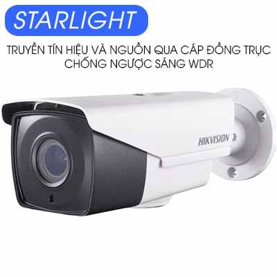 CAMERA HDTVI 2MP STARLIGHT HIKVISION DS-2CC12D9T-AIT3ZE