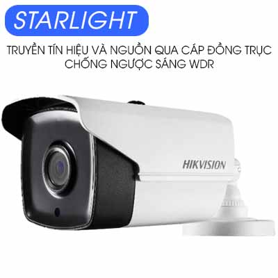 CAMERA HDTVI 2MP STARLIGHT HIKVISION DS-2CC12D9T-IT3E