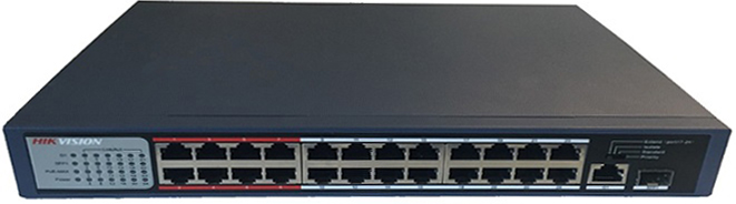 24-port 10/100Mbps PoE Switch HIKVISION DS-3E0326P-E/M
