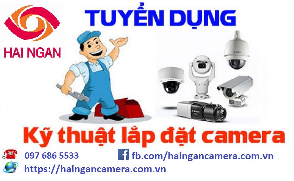Tuyển Kỹ thuật viên Camera - Điện nhẹ