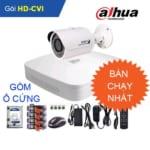 Combo 2: Trọn gói Camera DAHUA FULL HD 2.0