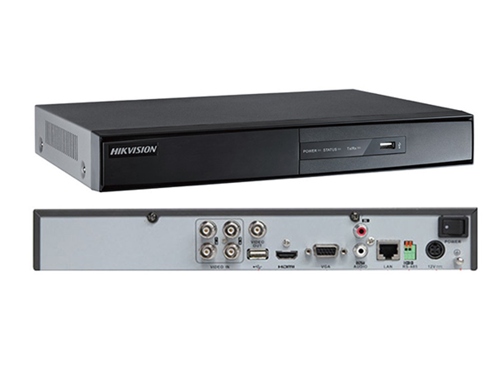 Đầu ghi hình Turbo 4 kênh Hikvision DS-7204HGHI-F1
