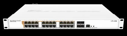 Switch Mikrotik CRS328-24P-4S+RM