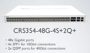 Switch Mikrotik CRS354-48G-4S+2Q+