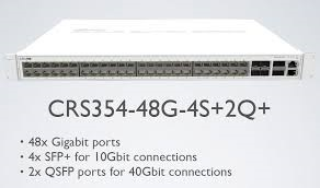 Switch Mikrotik CRS354-48P-4S+2Q+