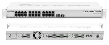 Switch Mikrotik  CSS326-24G-2S+RM