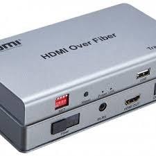 Bộ kéo dài HDMI + USB bằng dây cáp quang HDES10