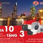 Hikvision khuyến mại mua 10 tặng 3 – 25/02/2019