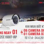 Chương trình Khuyến Mại Hikvision lần 2 tháng 04/2019