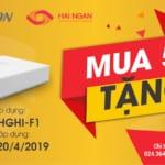 Chương trình Khuyến mãi Hikvision tháng 04 2019