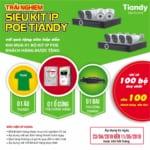 Chương trình Khuyến Mại Camera IP Thông Minh Tiandy tháng 05 2019