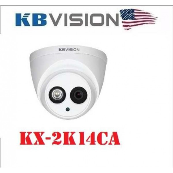 Camera HDCVI 4mp KBvision KX-2K14CA