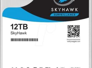 ST12000VX0008 Ổ cứng chuyên dụng cho Camera giám sát: Seagate Skyhawk 12TB 3,5″ SATA