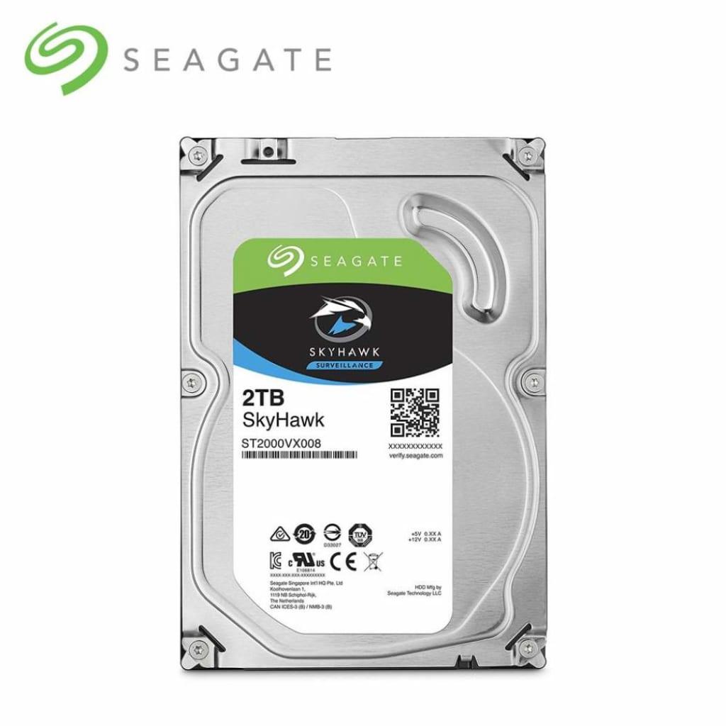 """Ổ cứng chuyên dụng cho Camera giám sát: Seagate Skyhawk 2TB 3,5"""" SATA - ST2000VX008"""