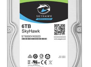 ST6000VX0001 Ổ cứng chuyên dụng cho Camera giám sát: Ổ cứng cắm trong Seagate Skyhawk 6TB 3,5″ SATA