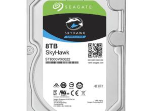 ST8000VX0022 Ổ cứng chuyên dụng cho Camera giám sát: Seagate Skyhawk 8TB 3,5″ SATA