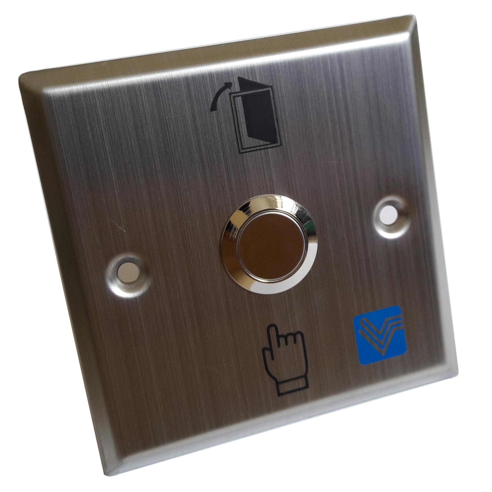 Nút bấm inox ấn trực tiếp(dùng cho kiểm soát cửa)