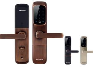 Khóa cửa điện tử thông minh màu bạc KBvision KB-SL01FS