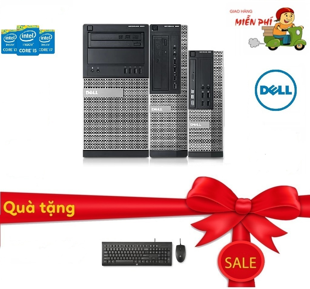 Case Máy Tính Đồng Bộ Dell D3010-HN06