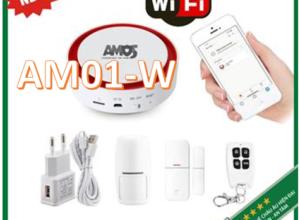 Bộ kit báo động không dây kết nối WIFI AMOS1-W