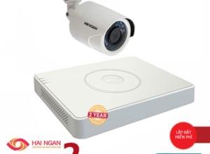 Lắp Đặt Trọn Bộ 1 Camera Giám Sát Hikvision HD HN-1CE561C0T