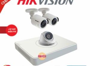 Lắp Đặt Trọn Bộ 03 Camera Giám Sát Hikvision Full HD HN-3CE563D0T