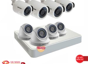 Lắp Đặt Trọn Bộ 8 Camera Giám Sát Hikvision Full HD HN-8CE568D0T